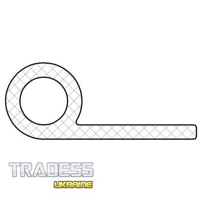 Уплотнитель силиконовый Р образный 6х4-21