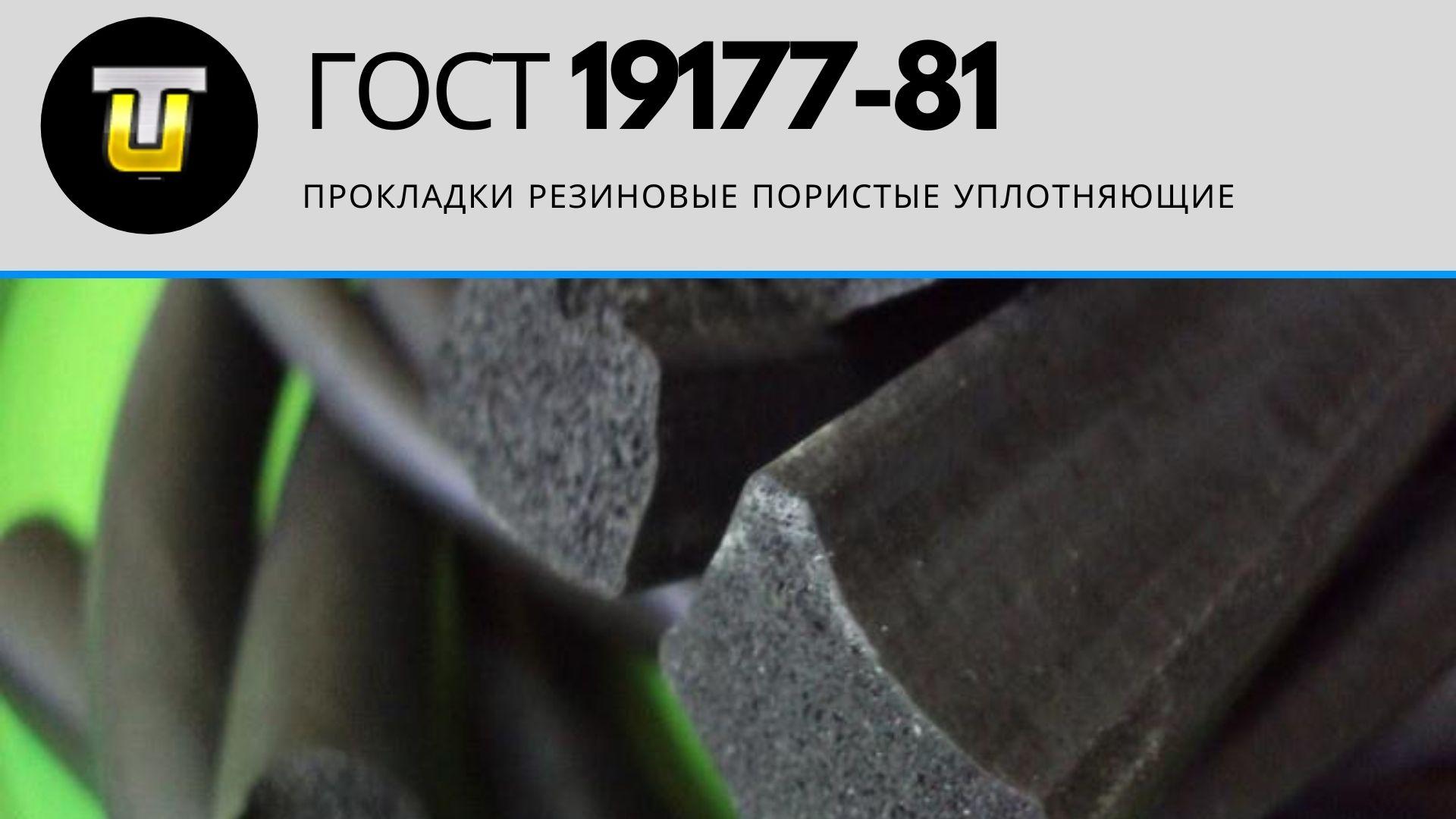ГОСТ 19177-81